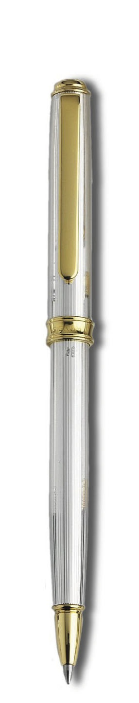 Signum® Antares 925 Silver Ruled Fretwork/Gold Plate Ballpoint Pen