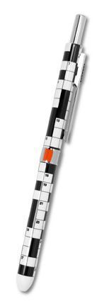 "Acme® Four Function ""Crossword"" Pen [4FP], design by Adrian Olabuenaga....discontinued line"