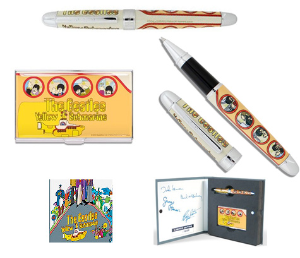 "Acme® Studio:The Beatles Limited Edition ""Yellow Submarine"" Rollerball & Pen Case Set"