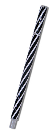Acme® Candy Stripe Rollerball design Leila Vignelli...part of Stiletto For Women Series