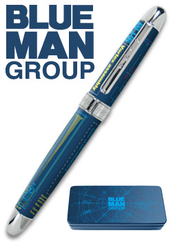 "Acme® ""Vortex Rollerball"" Limited Edition Rollerball Pen design by Blue Man Group...now Archived!"