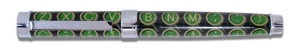 "Acme® ""Qwerty"" Rollerball Pen, design by Michael Doret"