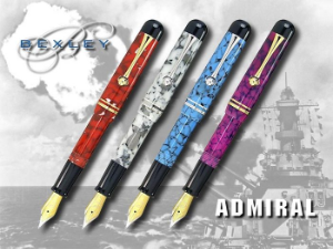Admiral Fountain Pen Collection by Bexley®