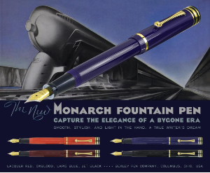Monarch Fountain Pens by Bexley®