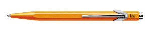 "Classic ""849"" Fluo Orange Ballpoint Pen by Caran d'Ache®"