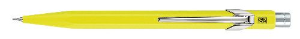 "Caran d'Ache® Classic ""844"" Metal Fluo Yellow Mechanical Pencil 0.7 mm lead"