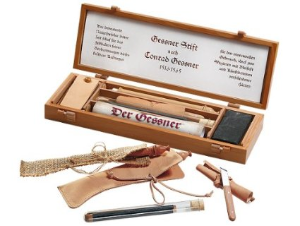 "Der Gessner Pencil in Classic ""Key"" Case [Cherry Wood] by Cleo Skribent®"