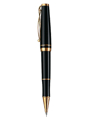 Skribent Gold Black Rollerball Pens by Cleo Skribent®
