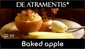 Baked Apple Scented Premium Fountain Pen Bottled Ink by De Atramentis®