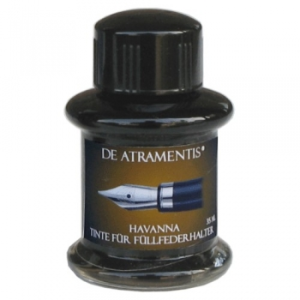 Havanna Premium Fountain Pen BottleI Ink by De Atramentis®
