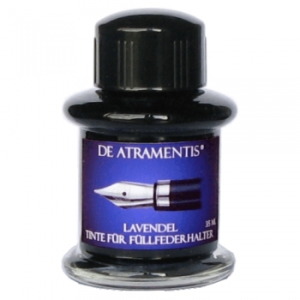 Lavender Premium Fountain Pen Bottled Ink by De Atramentis®