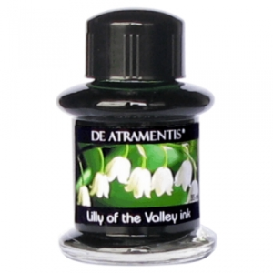 Lilly of the Valley Flower Scented/Green Premium Bottled Ink by De Atramentis®
