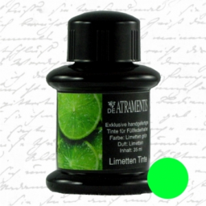 Lime Fruit Scented/Lime Green Premium Fountain Pen Ink by De Atramentis®