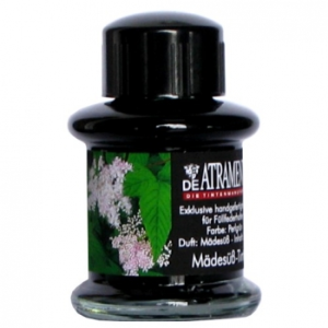 Meadow Sweet Premium Flower Scented Bottled Ink by De Atramentis®...green color ink