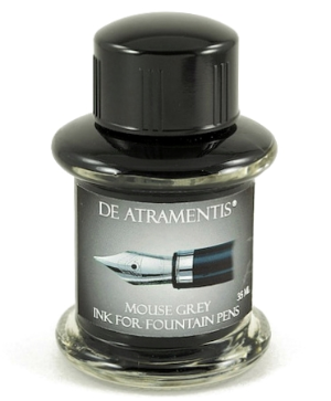 Mouse Grey Premium Fountain Pen Bottle Ink by De Atramentis®