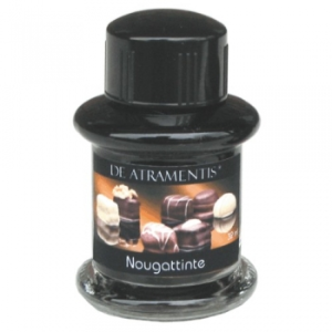 Nougat Scented Premium Fountain Pen Bottled Ink by De Atramentis®...end of the line special