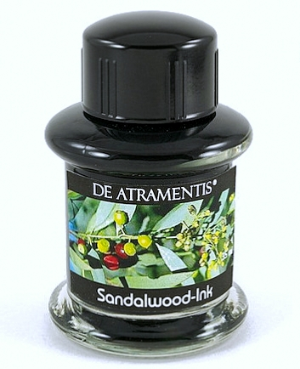 Sandalwood Scented Premium Bottled Ink by De Atramentis®