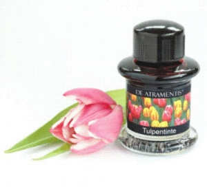 Tulips Premium Flower Scented Bottled Ink by De Atramentis®