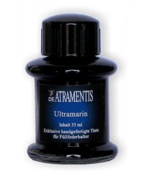 Ultramarine Premium Bottled Fountain Pen Ink De Atramentis®