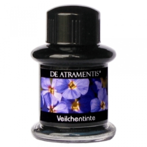 Violets Premium Flower Scented Bottled Ink by De Atramentis®
