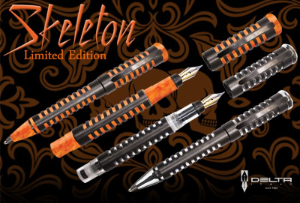 Skeleton Rollerball Pens Limited Edition by Delta®