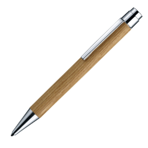 Vivo Ash Natural Ballpoint Pen by E+M® of Germany