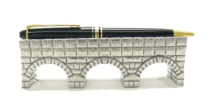 Thought Aqueduct Pen Holder by Jac Zagoory Designs