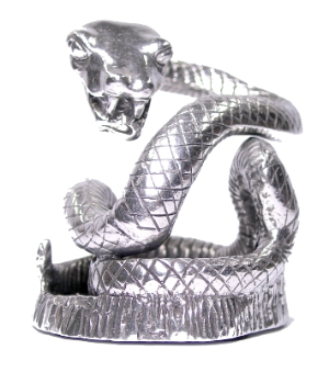 Coiling Snake Pen Holder by Jac Zagoory Designs