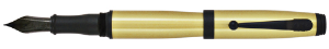 Invincia Brass Fountain Pens by MonteVerde