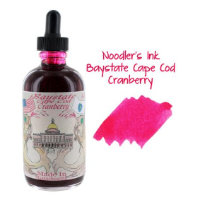 Bay State Cranberry 4.5 oz Bottled Ink by Noodler's Ink®...free fountain pen included