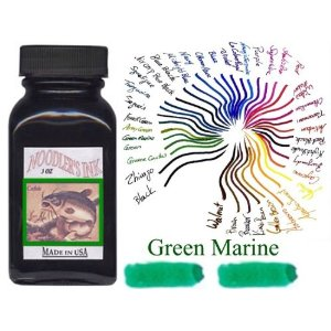 Green Marine 3 oz Bottled Ink by Noodler's Ink®