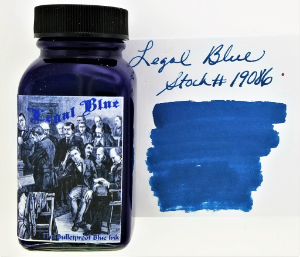 Legal Blue [bulletproof] Ink by Noodler's Ink®