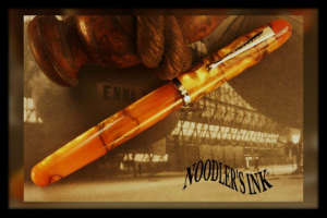 Neponset Bengal Tiger Acrylic Fountain Pen with Music Nib by Noodler's Ink®
