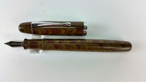 Neponset Shiloh Ebonite Fountain Pen with Music Nib by Noodler's Ink®