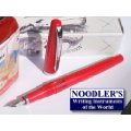 Red Standard Flex Nib Fountain Pen by Noodler's Ink® [piston fill]