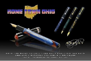 Home Town Ohio Fountain Pen Series by Bexley®...Rollerball Assembly also included!