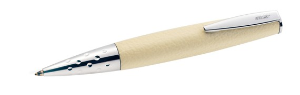 Beige Leather Inspirations Ballpoint Pen OR Rollerball Pen by Online®....last one each
