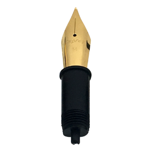 Gold Plated Nib Units Fountain Pen Inserts by Osprey Pens®