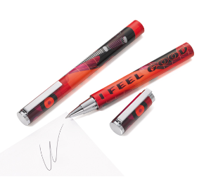 Pen I Feel Good Rollerball Pen from Troika® Writing Instruments