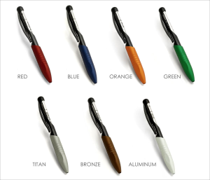 Kabrio Capless Rollerball Pens by Parafernalia® of Italy