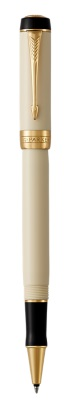 Duofold Classic Ivory and Black Rollerball Pen by Parker®