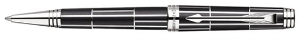 Premier Luxury Black CT Ballpoint Pen by Parker®