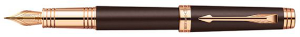 Premier Soft Brown GT Fountain Pen by Parker®