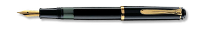 Tradition 200 Black Fountain Pen Series by Pelikan®