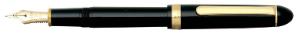 Platinum® #3776 Century Black PTB5000 Fountain Pens-steel nibs