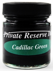 Cadillac Green Fountain Pen 66 mL Bottle Ink from Private Reserve Ink®