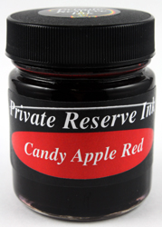 Chromium Ink Series: Candy Apple Red from Private Reserve Ink®...this color has been discontinued
