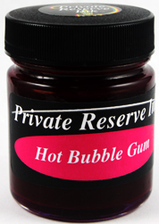 Chromium Ink Series: Hot Bubble Gum from Private Reserve Ink®...end of the line for this color