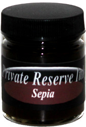 Sepia Fountain Pen 66 mL Bottle Ink from Private Reserve Ink®