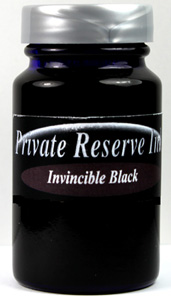 Invincible Bottled Ink Series [black or blue] by Private Reserve Ink®